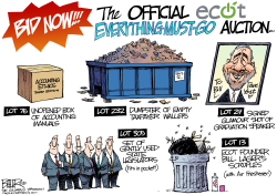 LOCAL OH ECOT Auction by Nate Beeler
