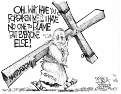 Greitens Cross to Bear by John Darkow