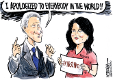 That Depends on the Definition of 'Apology' by Jeff Koterba, Omaha World Herald, NE