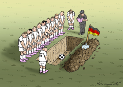 Sad Day in Soccer by Marian Kamensky