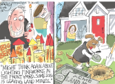 Doggy Independence by Pat Bagley, The Salt Lake Tribune, UT