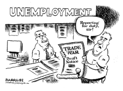 Trade War and jobs by Jimmy Margulies