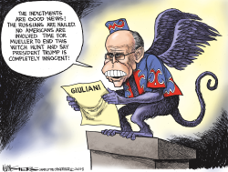 Giuliani and the Russian Indictments by Kevin Siers
