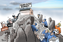 Trump-Putin summit by Paresh Nath