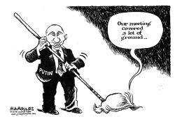 Trump and Putin summit by Jimmy Margulies