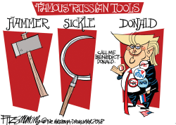 Russian Tools by David Fitzsimmons