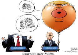 Trump Balloon by Nate Beeler