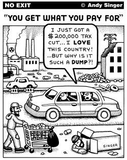 You Get What You Pay For by Andy Singer