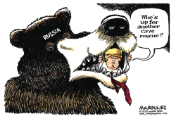 Another cave rescue color by Jimmy Margulies