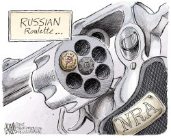 Infiltrating the NRA by Adam Zyglis