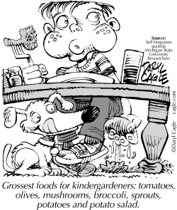 TRUE Grossest Foods For Kids by Daryl Cagle
