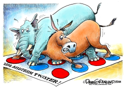 midterms 2018 Twister by Dave Granlund