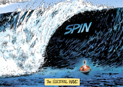 Election Wave by Nate Beeler