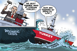 Turkey in crises by Paresh Nath