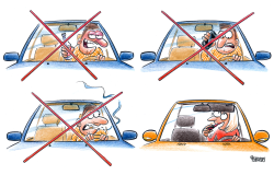 Smoking bans and road traffic safety by Gatis Sluka