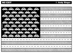 United States of Automobiles by Andy Singer
