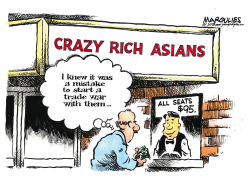 Crazy Rich Asians color by Jimmy Margulies