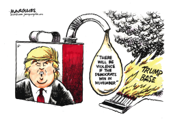 Trump and 2018 election color by Jimmy Margulies