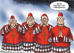Catholic Church Scandal by Kevin Siers