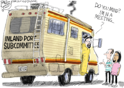 LOCAL Inland Port by Pat Bagley