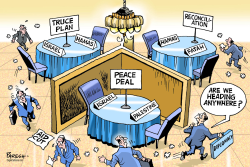 Diplomacy in Middle East by Paresh Nath