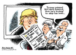 Trump troubles color by Jimmy Margulies