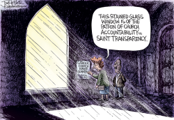 Clergy Abuse Transparency by Joe Heller