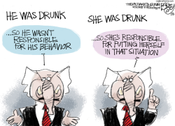 He Said He Said by Pat Bagley