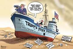 Trump's Mideast peace plan by Paresh Nath