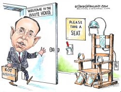 Rod Rosenstein Job jeopardy by Dave Granlund