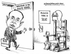Rosenstein job jeopardy by Dave Granlund