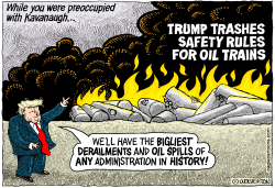 Trump Trashes Oil Train Safety Rules by Wolverton