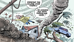 Hurricanes and cyclones by Paresh Nath