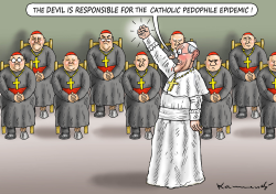 Pope and the Devil by Marian Kamensky