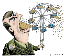 Bolsonaro's Speech Machine by Osmani Simanca