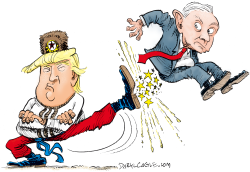 Sessions Kicked Out by Daryl Cagle