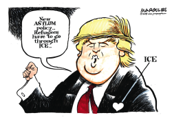 Trump Asylum policy by Jimmy Margulies
