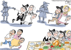 Thanksgiving Utah by Pat Bagley
