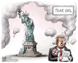 Gassed by Adam Zyglis