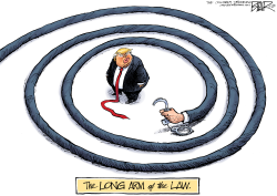 Trump Spiral by Nate Beeler