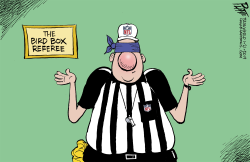 NFL referees by Bruce Plante