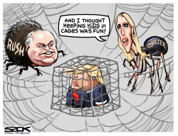 Rush and Coulter by Steve Sack