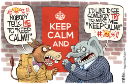 Everybody Calm Down by Rick McKee
