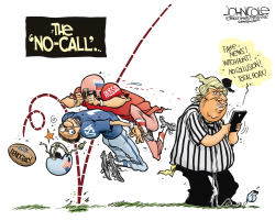 Trump's missed call by John Cole