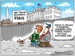 Feb Shutdown by Bob Englehart