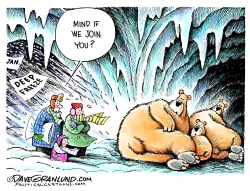 January Arctic Blast by Dave Granlund