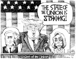 State of the Unionski by John Darkow