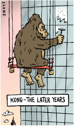 King Kong - The Later Years    by Chris Slane