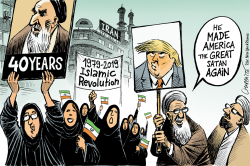 Iran 40 years after the Revolution by Patrick Chappatte