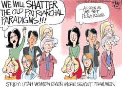 LOCAL Utah Women by Pat Bagley